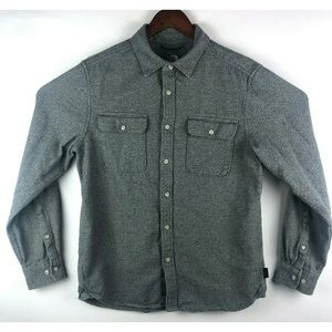 The North Face Gray Flannel Long Sleeve Shirt
